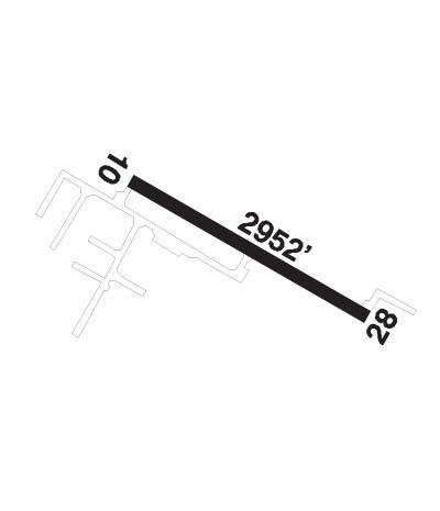 Airport Diagram of CEZ3