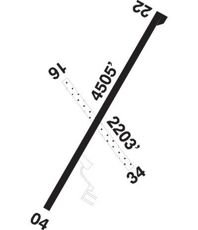 Airport Diagram of CNL3