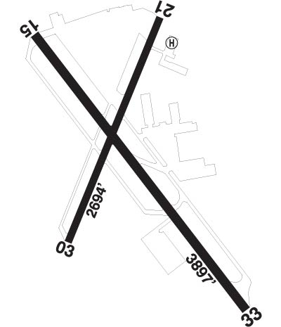 Airport Diagram of CYKZ