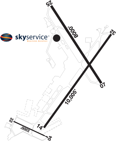 Airport Diagram of CYOW