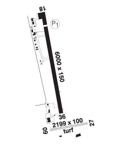 Airport Diagram of CYQA