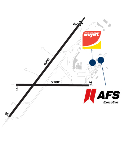 Airport Diagram of CYQB