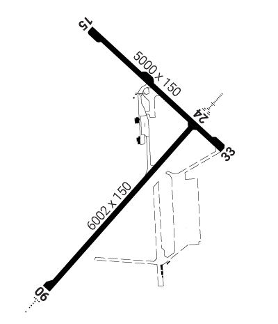 Airport Diagram of CYQI
