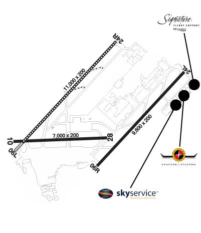 Airport Diagram of CYUL
