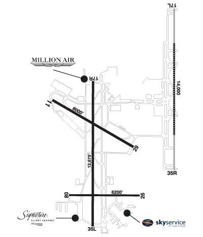 Airport Diagram of CYYC
