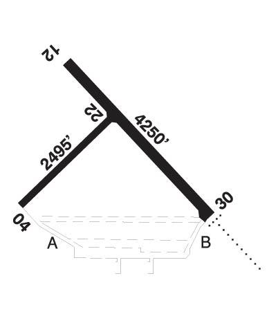 Airport Diagram of CYYN