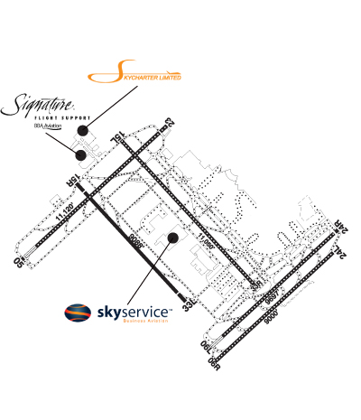 Airport Diagram of CYYZ