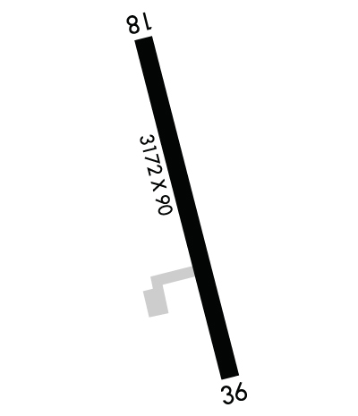 Airport Diagram of K1B6