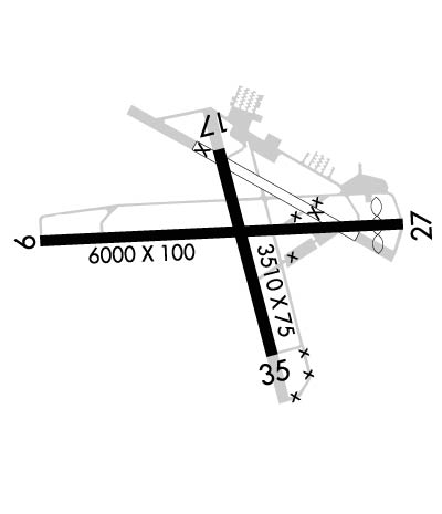 Airport Diagram of K28J