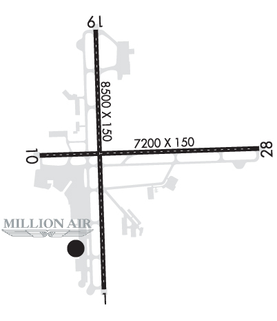 Airport Diagram of KALB
