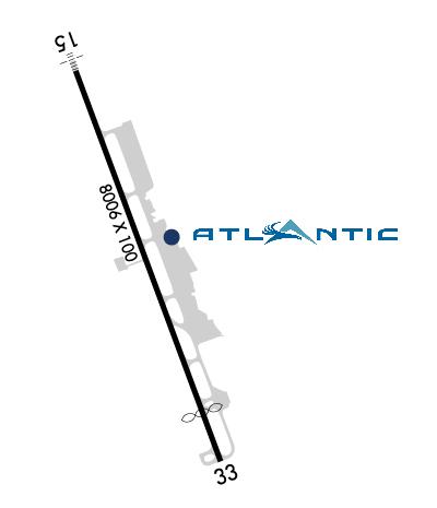 Airport Diagram of KASE