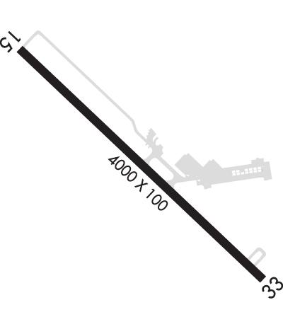 Airport Diagram of KBST