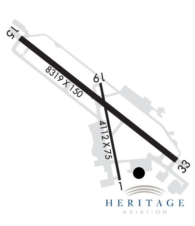 Airport Diagram of KBTV