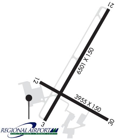 Airport Diagram of KBWG