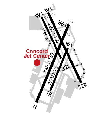 Airport Diagram of KCCR
