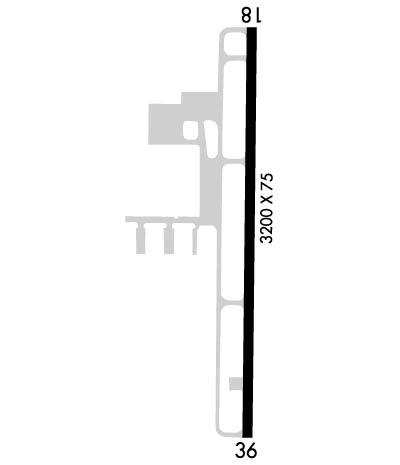 Airport Diagram of KCFE