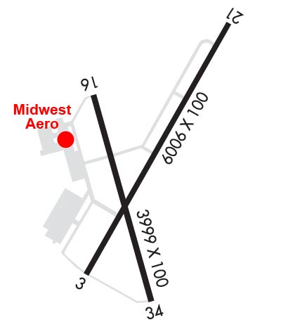 Airport Diagram of KDNV