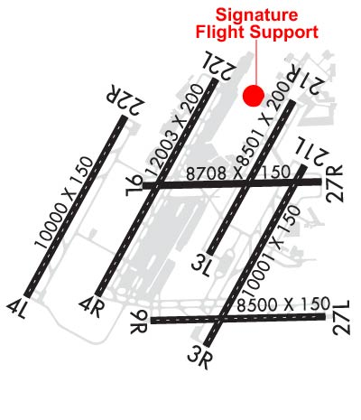 Airport Diagram of KDTW