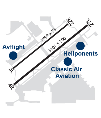 Airport Diagram of KFFZ
