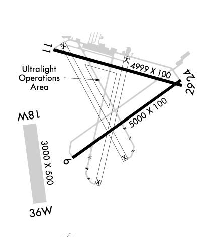 Airport Diagram of KFIN
