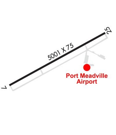 Airport Diagram of KGKJ