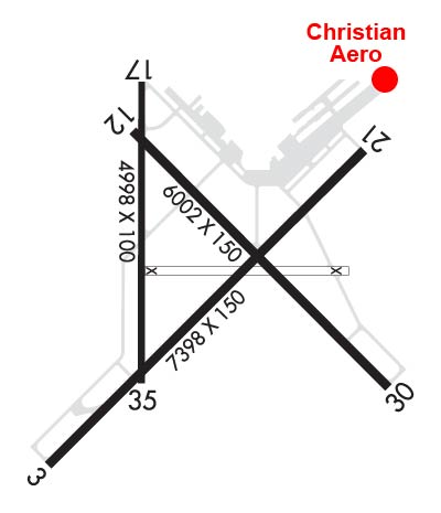 Airport Diagram of KHOB