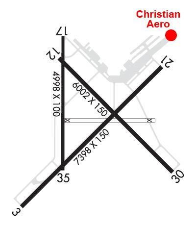 Airport Diagram of KHOB
