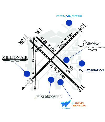 Airport Diagram of KHOU