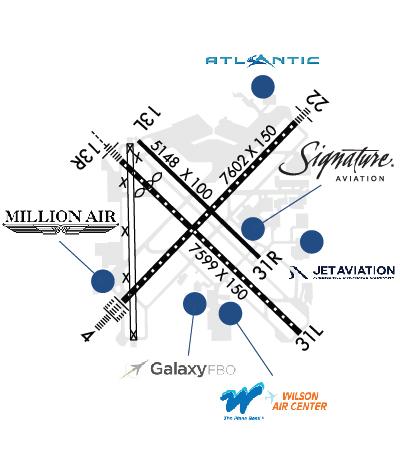 Airport Diagram of KHOU
