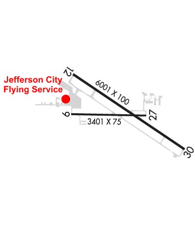 Airport Diagram of KJEF
