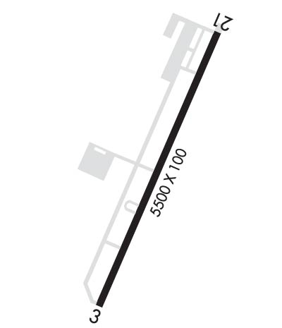 Airport Diagram of KJNX