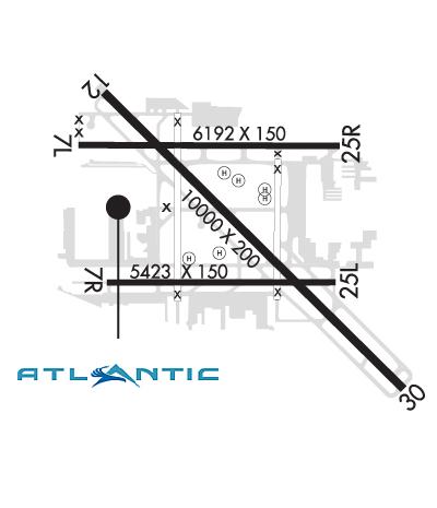 Airport Diagram of KLGB