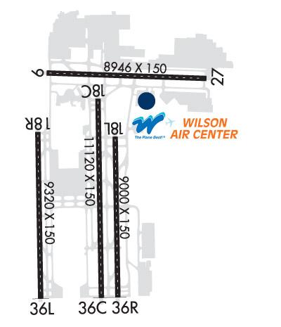 Airport Diagram of KMEM