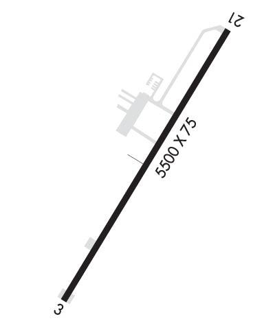 Airport Diagram of KMRN