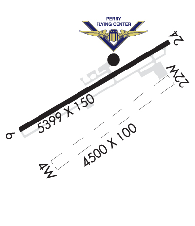 Airport Diagram of KPTN