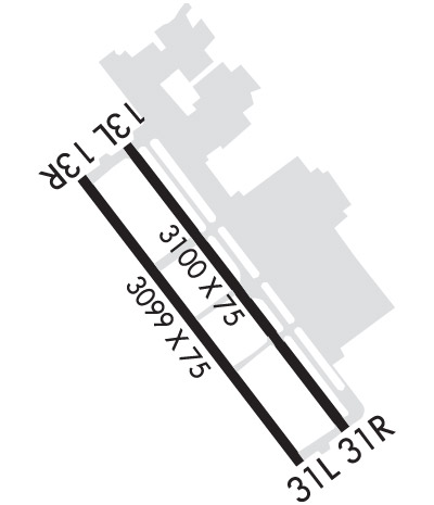 Airport Diagram of KRHV
