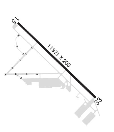 Airport Diagram of KRME