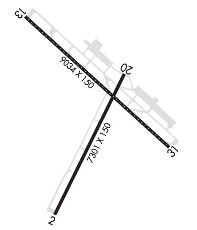 Airport Diagram of KRST