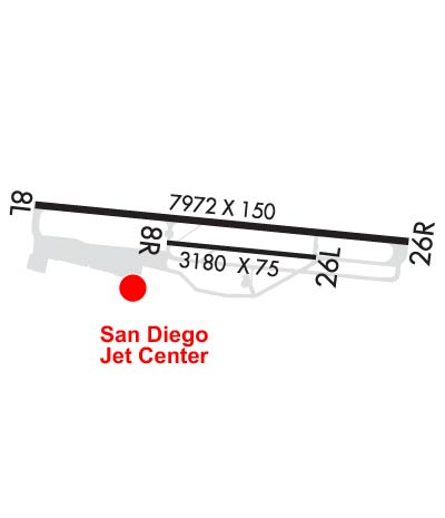 Airport Diagram of KSDM