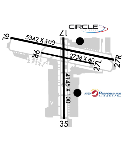 Airport Diagram of KSEE
