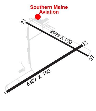 Airport Diagram of KSFM