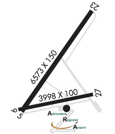 Airport Diagram of KSLK
