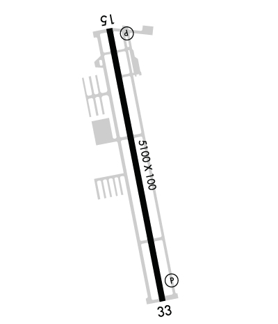 Airport Diagram of KSPB