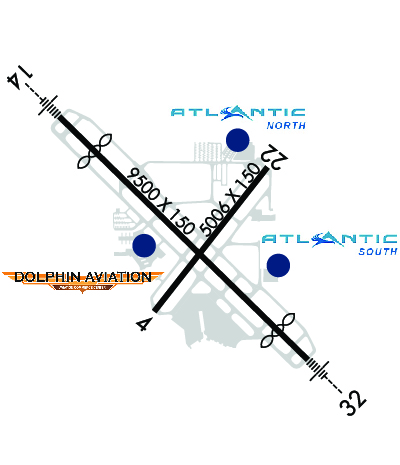 Airport Diagram of KSRQ