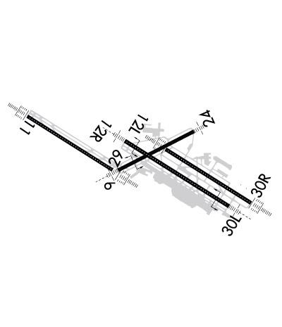 Airport Diagram of KSTL