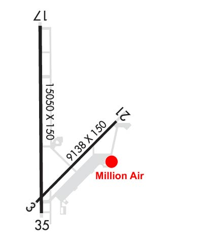 Airport Diagram of KVCV