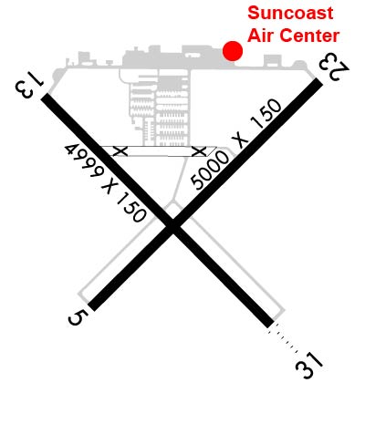 Airport Diagram of KVNC