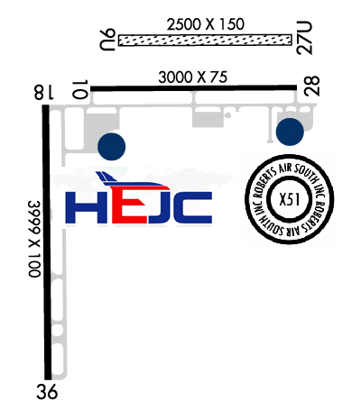 Airport Diagram of KX51