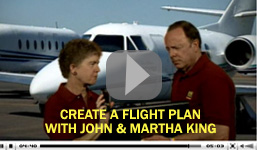 John & Martha King explain how to create a flight plan using FltPlan.com