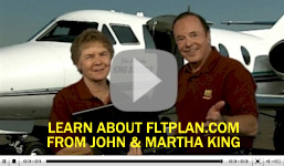 Video about FltPlan.com from John & Martha King